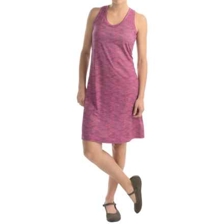 Columbia Sportswear Saturday Trail II Knit Dress - Omni-Wick®, Racerback, Sleeveless (For Women) in Haute Pink Print - Closeouts