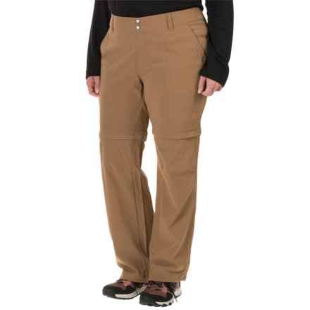 Columbia Sportswear Saturday Trail II Omni-Shield® Convertible Pants - UPF 50 (For Plus Size Women) in Delta - Closeouts