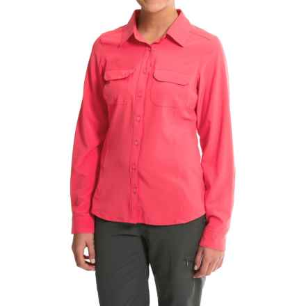 Columbia Sportswear Saturday Trail III Omni-Wick® Shirt - UPF 40, Long Sleeve (For Women) in Bright Geranium - Closeouts