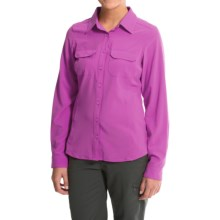 Columbia Sportswear Saturday Trail III Omni-Wick® Shirt - UPF 40, Long Sleeve (For Women) in Foxglove - Closeouts
