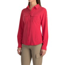 Columbia Sportswear Saturday Trail III Omni-Wick® Shirt - UPF 40, Long Sleeve (For Women) in Ruby Red - Closeouts