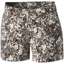 Columbia Sportswear Saturday Trail Printed Shorts - UPF 50 (For Women) in Fossil Print - Closeouts