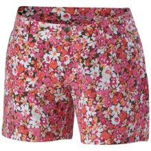 Columbia Sportswear Saturday Trail Printed Shorts - UPF 50 (For Women) in Tropic Pink Print - Closeouts