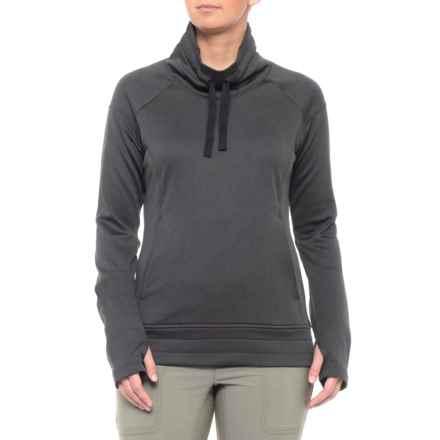 Columbia Sportswear Saturday Trail Shirt - Long Sleeve (For Women) in Black Heather