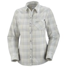 Columbia Sportswear Saturday Trail Shirt - UPF 50, Long Sleeve (For Women) in Sea Salt - Closeouts