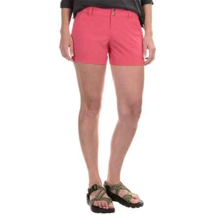 Columbia Sportswear Saturday Trail Shorts (For Women) in Bright Geranium - Closeouts