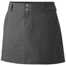 Columbia Sportswear Saturday Trail Skirt - UPF 50 (For Plus Size Women) in Grill - Closeouts