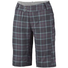 Columbia Sportswear Saturday Trail Stretch Plaid Shorts - UPF 15 (For Women) in Grill Plaid - Closeouts