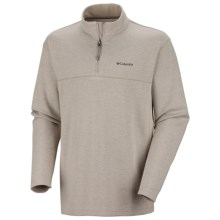 Columbia Sportswear Schuss Pullover Shirt - Zip Neck, Long Sleeve (For Men) in Light Aluminum Heather - Closeouts