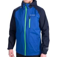 Columbia Sportswear Sector Reflector EXS Rain Jacket - Waterproof (For Men) in Royal - Closeouts