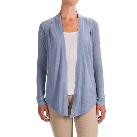 Columbia Sportswear See Through You Burnout Cardigan Wrap - Long Sleeve (For Women) in Beacon Dotty Dye Burnout