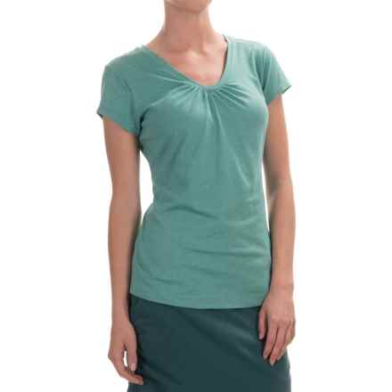 Columbia Sportswear Shadow Time II T-Shirt - V-Neck, Short Sleeve (For Women) in Miami - Closeouts