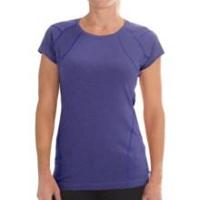 Columbia Sportswear Shadow Time Shirt - Short Sleeve (For Women) in Light Grape - Closeouts