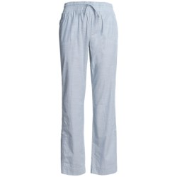 Columbia Sportswear Shakedown Chambray Pants - Roll-Up Legs (For Women) in Mirage