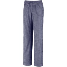 Columbia Sportswear Shakedown Chambray Pants - Roll-Up Legs (For Women) in Nocturnal - Closeouts