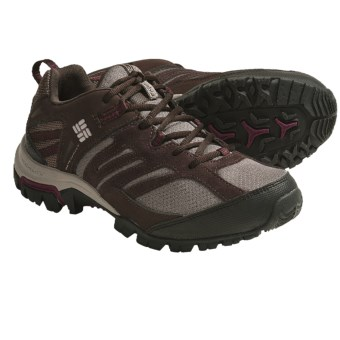 Columbia Sportswear Shasta Ridge Omni-Tech® Trail Shoes - Waterproof (For Women) in Bungee Cord/Port Royale