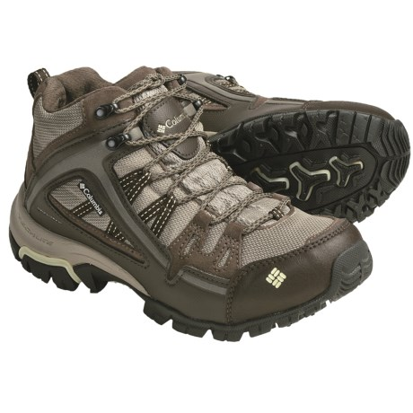 Columbia Sportswear Shastalavista Mid Boots - Omni-Tech®, Waterproof (For Women) in Tusk/Limonata
