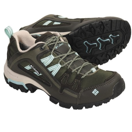 Columbia Sportswear Shastalavista Trail Shoes - Waterproof (For Women) in Breen/Shimmer