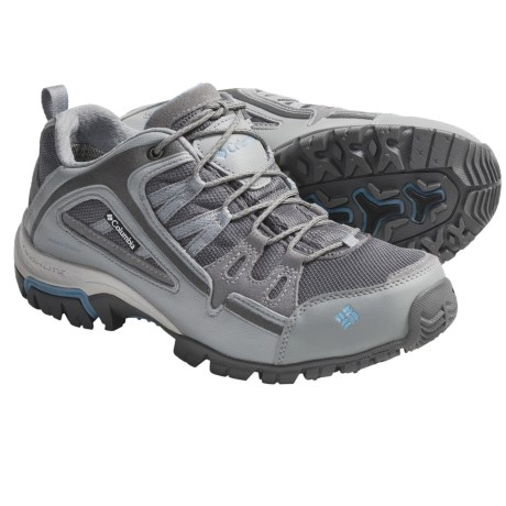 Columbia Sportswear Shastalavista Trail Shoes - Waterproof (For Women) in Breen/Shimmer
