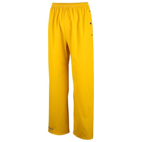 Columbia Sportswear Shelter Cove Pants - Waterproof (For Men) in Cyber Yellow