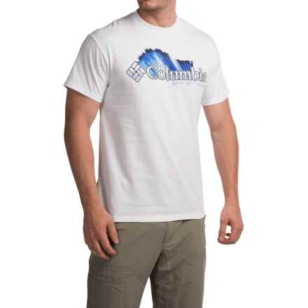 Columbia Sportswear Shifting Shoreline Sailfish T-Shirt - Short Sleeve (For Men) in White/Sail - Closeouts