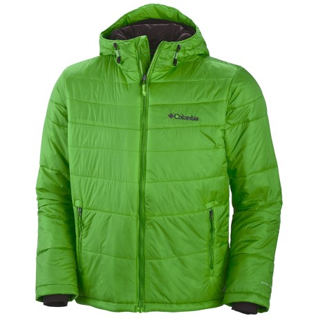Columbia Sportswear Shimmer Flash II Omni-Heat® Jacket - Insulated (For Men) in Cyber Green
