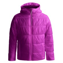 Columbia Sportswear Shimmer Me II Omni-Heat® Jacket - Insulated (For Little and Big Girls) in Foxglove - Closeouts