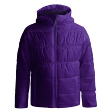 Columbia Sportswear Shimmer Me II Omni-Heat® Jacket - Insulated (For Little and Big Girls) in Hyper Purple - Closeouts
