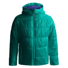 Columbia Sportswear Shimmer Me II Omni-Heat® Jacket - Insulated (For Little and Big Girls) in Mayan Green - Closeouts