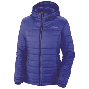 Columbia Sportswear Shimmer Me Omni-Heat® Hooded Jacket - Insulated (For Women) in Light Grape