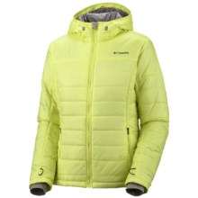 Columbia Sportswear Shimmer Me Omni-Heat® Hooded Jacket - Insulated (For Women) in Neon Light - Closeouts