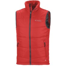 Columbia Sportswear Shimmer Me Timbers Omni-Heat® Vest - Insulated (For Men) in Bright Red - Closeouts
