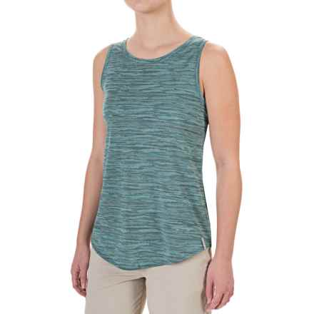 Columbia Sportswear Shimmering Light Omni-Wick® Tank Top (For Women) in Pond Jacquard - Closeouts