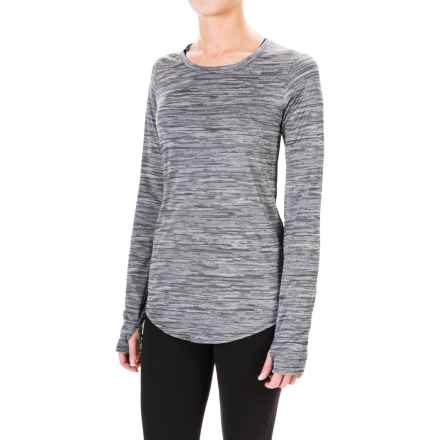 Columbia Sportswear Shimmering Light Shirt - Long Sleeve (For Women) in Black Jacquard - Closeouts
