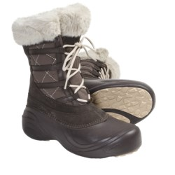 Columbia Sportswear Sierra Summette Lace Winter Boots - Waterproof (For Women) in Black
