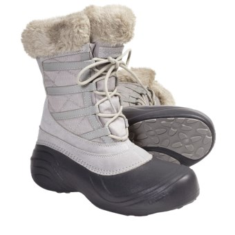 Columbia Sportswear Sierra Summette Lace Winter Boots - Waterproof (For Women) in Flint Grey