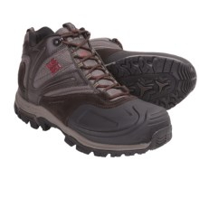 Columbia Sportswear Silcox Six Boots - Insulated (For Men) in Cordovan/Chili - Closeouts