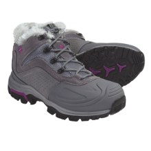 Columbia Sportswear Silcox Six Omni-Heat® Winter Boots - Waterproof (For Women) in Charcoal/Raspberry - Closeouts