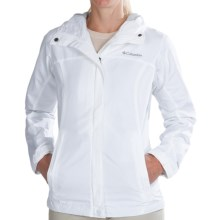 Columbia Sportswear Silver Falls Jacket - Water Resistant (For Women) in White - Closeouts