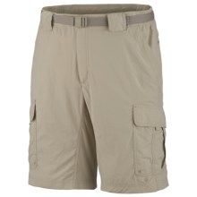 Columbia Sportswear Silver Ridge Cargo Shorts - UPF 30 (For Tall Men) in Fossil - Closeouts