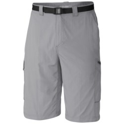 Columbia Sportswear Silver Ridge Cargo Shorts - UPF 50 (For Men) in Columbia Grey