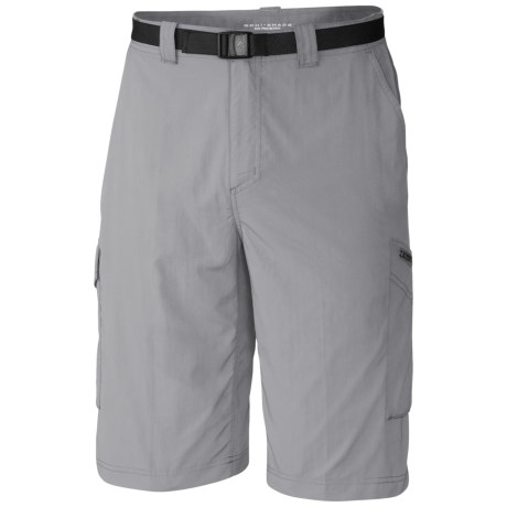 Columbia Sportswear Silver Ridge Cargo Shorts - UPF 50 (For Men) in Columbia Grey