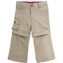 Columbia Sportswear Silver Ridge Convertible Pants - UPF 30 (For Toddler Girls) in Fossil - Closeouts
