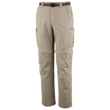 Columbia Sportswear Silver Ridge Convertible Pants - UPF 50 (For Big and Tall Men) in Fossil - Closeouts