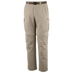 Columbia Sportswear Silver Ridge Convertible Pants - UPF 50 (For Big and Tall Men) in Fossil