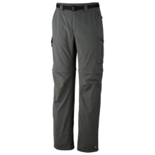 Columbia Sportswear Silver Ridge Convertible Pants - UPF 50 (For Big and Tall Men) in Gravel - Closeouts