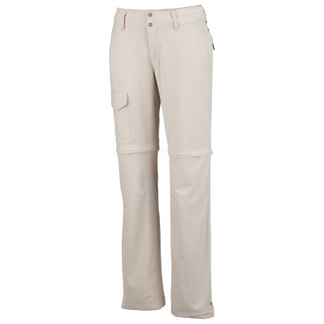 Columbia Sportswear Silver Ridge Convertible Pants - UPF 50, Full Leg (For Women) in Fossil
