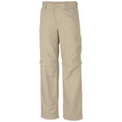 Columbia Sportswear Silver Ridge II Convertible Pants - UPF 30 (For Boys) in Fossil