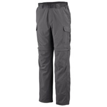 Columbia Sportswear Silver Ridge II Convertible Pants - UPF 30 (For Tall Men) in Grill - Closeouts