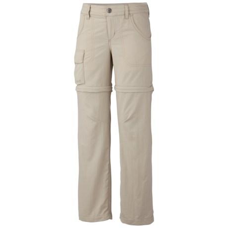 Columbia Sportswear Silver Ridge II Pants - UPF 30, Convertible (For Girls) in Fossil